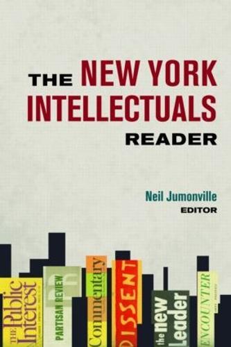 The New York Intellectuals Reader (Hardback)