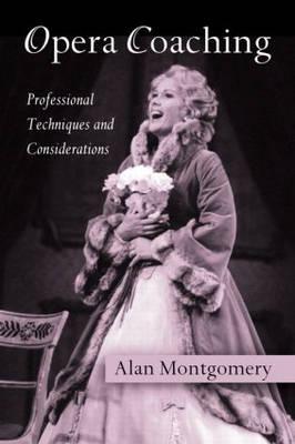 Opera Coaching (Hardback)