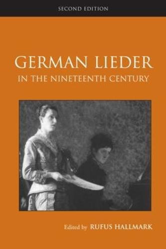 German Lieder in the Nineteenth Century (Paperback)