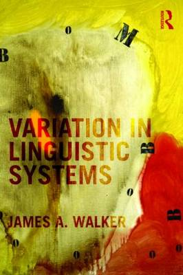 Variation in Linguistic Systems (Paperback)