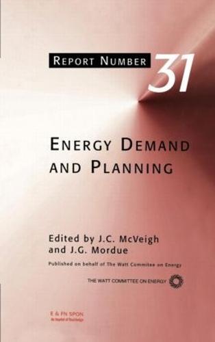 Energy Demand and Planning (Hardback)