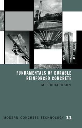 Fundamentals of Durable Reinforced Concrete - Modern Concrete Technology 1 (Hardback)