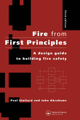 Fire from First Principles: Design Guide to Building Fire Safety (Paperback)