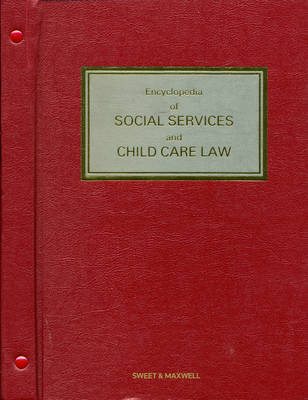 Encyclopedia of Social Services and Child Care Law