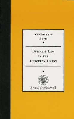 Business Law in the EU (Hardback)