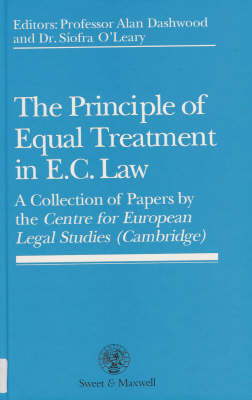The Principle of Equal Treatment in EC Law (Hardback)