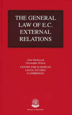 The General Law of EC External Relations (Hardback)