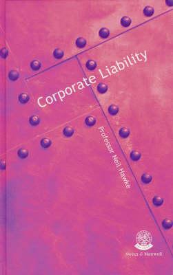 Corporate Liability (Hardback)