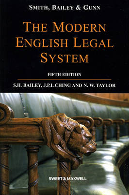 Smith, Bailey & Gunn on The Modern English Legal System (Paperback)