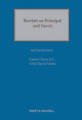 Rowlatt on Principal and Surety (Hardback)