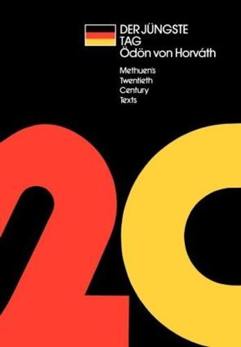 Der Jungste Tag - Twentieth Century Texts (Paperback)