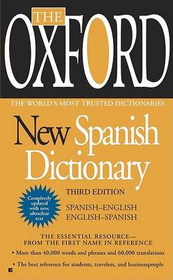 Oxford New Spanish Dictionary (Paperback)