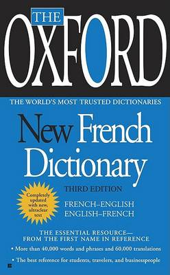 OXFORD FRENCH PENQUIN DICTIONARY (Paperback)