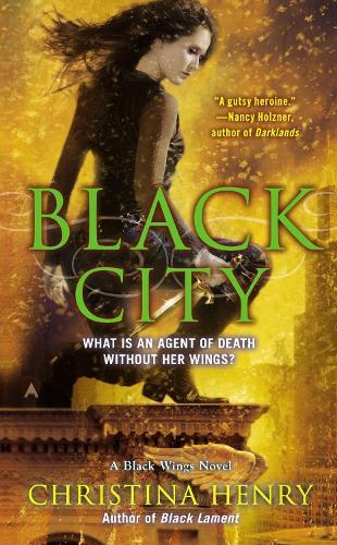 Black City: A Black Wings Novel (Paperback)