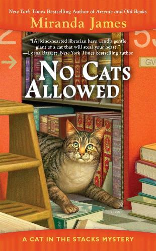 No Cats Allowed: A Cat in the Stacks Mystery (Paperback)