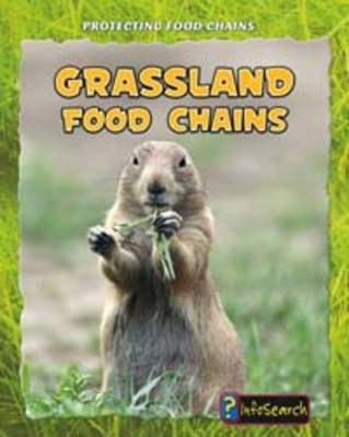 Grassland Food Chains - InfoSearch: Protecting Food Chains (Hardback)