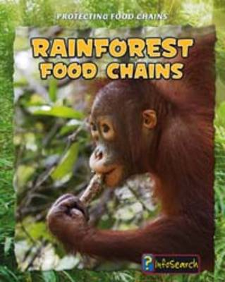 Rainforest Food Chains - Infosearch: Protecting Food Chains (Hardback)