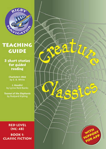 Navigator New Guided Reading Fiction Year 6, Creature Classics: Navigator New Guided Reading Fiction Year 6, Creature Classics Teaching Guide Teaching Guide - Navigator New Fiction (Paperback)