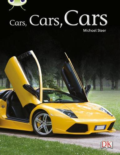 BC NF Turquoise A/1A Cars, Cars, Cars - BUG CLUB (Paperback)