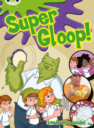 BC Green/1B Comic: Super Gloop - BUG CLUB (Paperback)