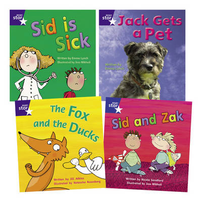 Learn at Home:Star Phonics Pack 3 (3 fiction and 1 non-fiction book) (Paperback)