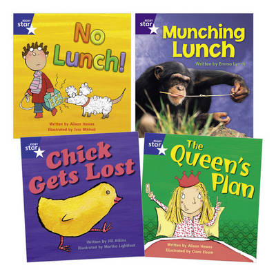 Learn at Home:Phonics Pack 4 (3 Fiction and 1 Non-fiction Book) (Paperback)