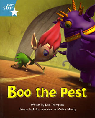 Fantastic Forest Turquoise Level Fiction: Boo the Pest - FANTASTIC FOREST (Paperback)
