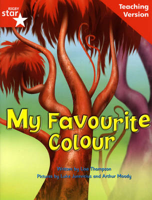 Fantastic Forest Red Level Fiction: My Favourite Colour Teaching Version - FANTASTIC FOREST (Paperback)
