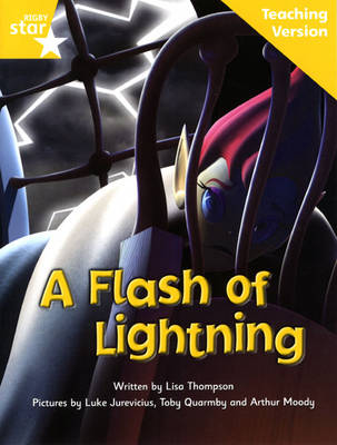Fantastic Forest Yellow Level Fiction: A Flash of Lightning Teaching Version - FANTASTIC FOREST (Paperback)