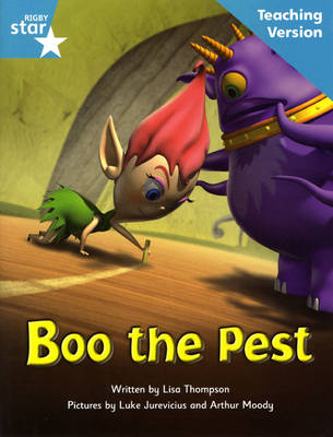 Fantastic Forest Turquoise Level Fiction: Boo the Pest Teaching Version - FANTASTIC FOREST (Paperback)