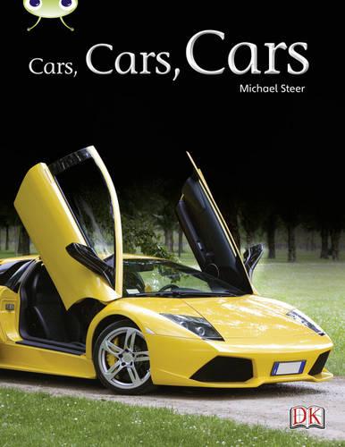Bug Club Non-fiction Turquoise A/1A Cars, Cars, Cars 6-pack - BUG CLUB