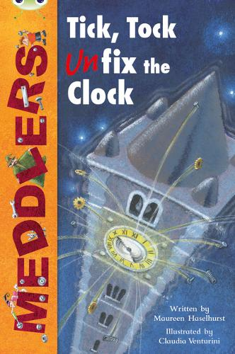 Bug Club Lime A/3C Meddlers: Tick, Tock, UNon-fictionix the Clock 6-pack - BUG CLUB