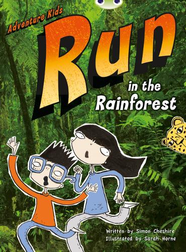BC Turquoise A/1A Adventure Kids: Run in the Rainforest: Run in the Rainforest 6-pack - BUG CLUB