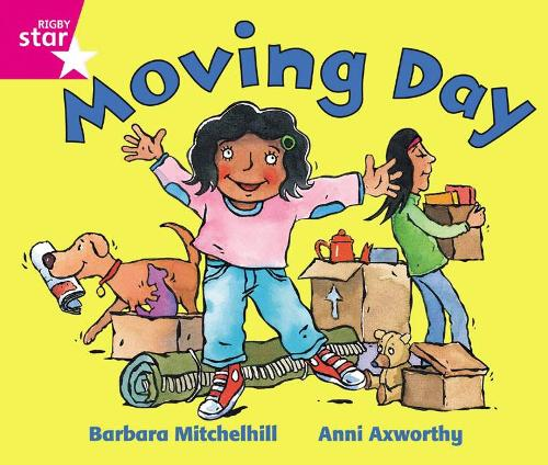 Rigby Star Guided Reception: Pink Level: Moving Day Pupil Book (single) - RIGBY STAR (Paperback)