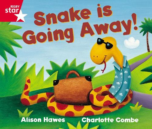 Rigby Star Guided Reception Red Level: Snake is Going Away Pupil Book (single) - RIGBY STAR (Paperback)