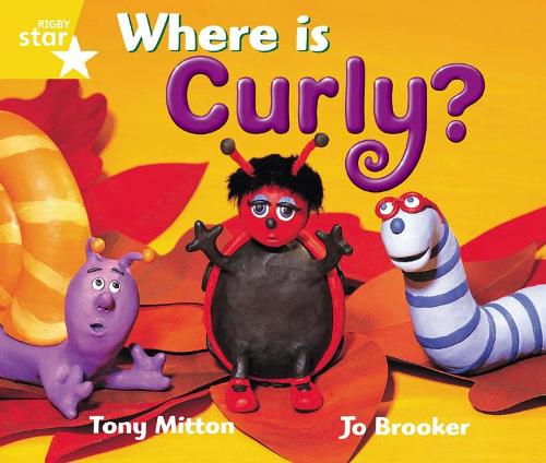 Rigby Star Guided 1 Yellow LEvel: Where is Curly? Pupil Book (single) - RIGBY STAR (Paperback)