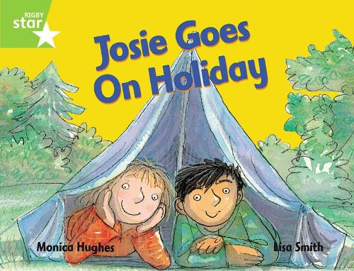 Rigby Star Guided 1 Green Level: Josie Goes on Holiday Pupil Book (single) - RIGBY STAR (Paperback)