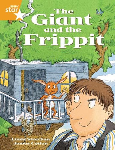 Rigby Star Guided 2 Orange Level, The Giant and the Frippit Pupil Book (single) - RIGBY STAR (Paperback)
