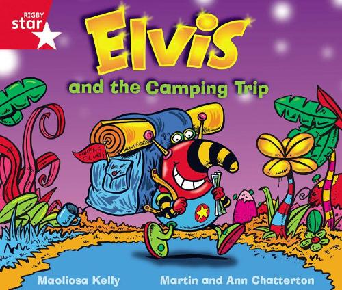 Rigby Star Guided Phonic Opportunity Readers Red: Elvis And The Camping Trip - Star Phonics Opportunity Readers (Paperback)