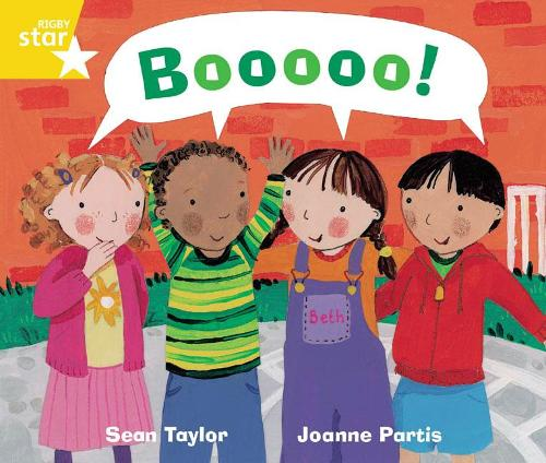 Rigby Star Guided Phonic Opportunity Readers Yellow: Boooo! - Star Phonics Opportunity Readers (Paperback)