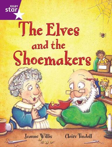 Rigby Star Guided 2 Purple Level: The Elves and the Shoemaker Pupil Book (single) - RIGBY STAR (Paperback)