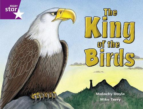 Rigby Star Guided 2 Purple Level: The King of the Birds Pupil Book (single) - RIGBY STAR (Paperback)