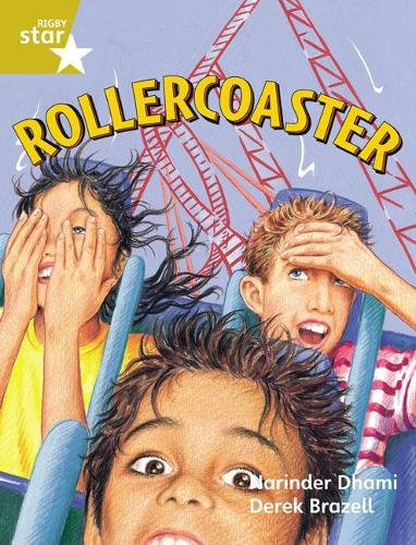 Rigby Star Guided 2 Gold Level: Rollercoaster Pupil Book (single) - RIGBY STAR (Paperback)