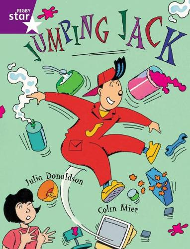 Rigby Star Guided Purple Level: Jumping Jack Pupil Book (single) - RIGBY STAR (Paperback)