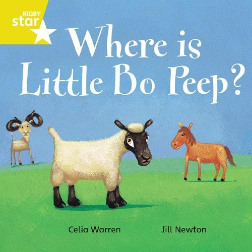 Rigby Star Independent Yellow Reader 7 Where is Little Bo Peep? - STAR INDEPENDENT (Paperback)