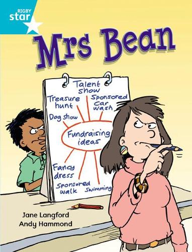 Rigby Star Independent Turquoise Reader 1 Mrs Bean - STAR INDEPENDENT (Paperback)