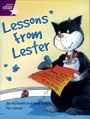 Rigby Star Indep Yr2/P3 Purple Level: Lessons from Lester (3 Pack) - STAR INDEPENDENT