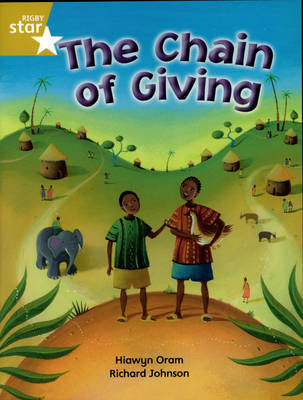 Rigby Star Indep Year 2/P3 Gold Level: Chain of Giving (3 Pack) - STAR INDEPENDENT