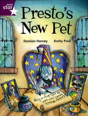 Rigby Star Indep Yr 2/3P3 Purple Level: Presto's New Pet (3 Pack) - STAR INDEPENDENT