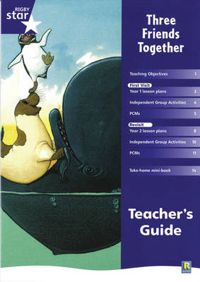 Rigby Star Shared Year 1 Fiction: Three Friends Together Teachers Guide - Red Giant (Paperback)